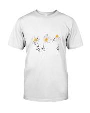 Let It Be Flowers Classic T-Shirt front