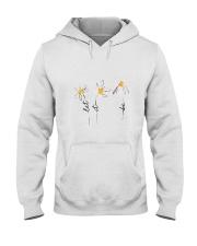 Let It Be Flowers Hooded Sweatshirt thumbnail