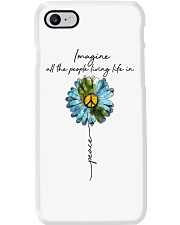 Imagine People Living Life In Peace Phone Case thumbnail