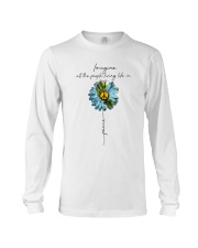 Imagine People Living Life In Peace Long Sleeve Tee thumbnail