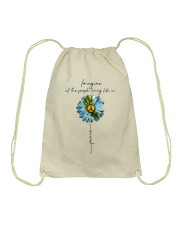 Imagine People Living Life In Peace Drawstring Bag tile