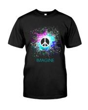 Imagine Peace Light Classic T-Shirt front