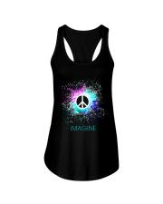 Imagine Peace Light Ladies Flowy Tank thumbnail