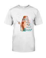 I Am Blunt Classic T-Shirt front