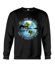 And I Think To Myself Crewneck Sweatshirt thumbnail