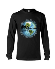 And I Think To Myself Long Sleeve Tee thumbnail