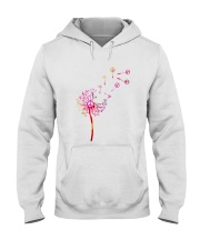 Hippie Flowers Hooded Sweatshirt thumbnail