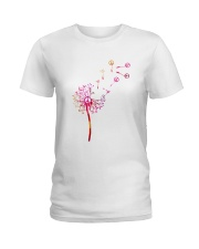 Hippie Flowers Ladies T-Shirt thumbnail