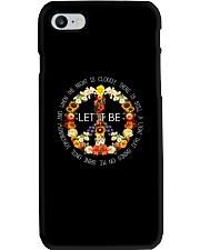 Let It Be Fowers Music Hippie  Phone Case thumbnail