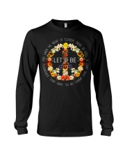 Let It Be Fowers Music Hippie  Long Sleeve Tee thumbnail