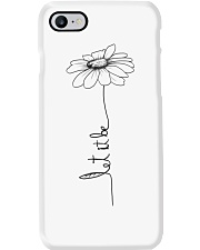 Let It Be Flower Hippie Music  Phone Case tile