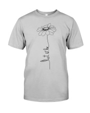 Let It Be Flower Hippie Music  Classic T-Shirt thumbnail