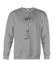 Let It Be Flower Hippie Music  Crewneck Sweatshirt thumbnail