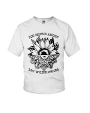 You Belong Among The Wildflowers Youth T-Shirt thumbnail