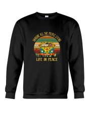 People Living Life In Peace 1 Crewneck Sweatshirt thumbnail