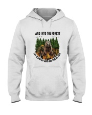 Into The Forest Hooded Sweatshirt thumbnail