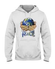 Teace Peace Hooded Sweatshirt front