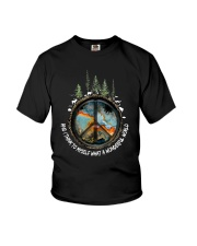 Myself What A Wonderful World 1 Youth T-Shirt thumbnail