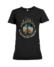 Myself What A Wonderful World 1 Premium Fit Ladies Tee thumbnail