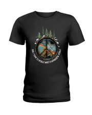 Myself What A Wonderful World 1 Ladies T-Shirt thumbnail