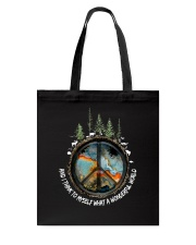 Myself What A Wonderful World 1 Tote Bag thumbnail
