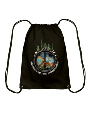 Myself What A Wonderful World 1 Drawstring Bag thumbnail