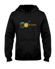 Peace Hope Love Hooded Sweatshirt front