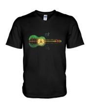 Peace Hope Love V-Neck T-Shirt thumbnail