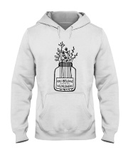 You Belong Among The Wildflowers Hooded Sweatshirt tile