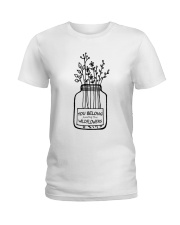 You Belong Among The Wildflowers Ladies T-Shirt tile