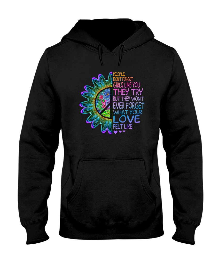 What Your Love Felt Like Hooded Sweatshirt