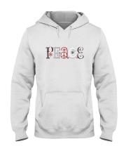 Hippie Peace Hooded Sweatshirt thumbnail