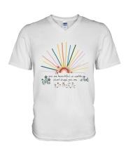 You Are Beautiful V-Neck T-Shirt thumbnail