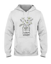 You Belong Among The Wildflowers Hippie  Hooded Sweatshirt thumbnail