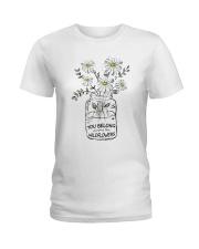 You Belong Among The Wildflowers Hippie  Ladies T-Shirt thumbnail
