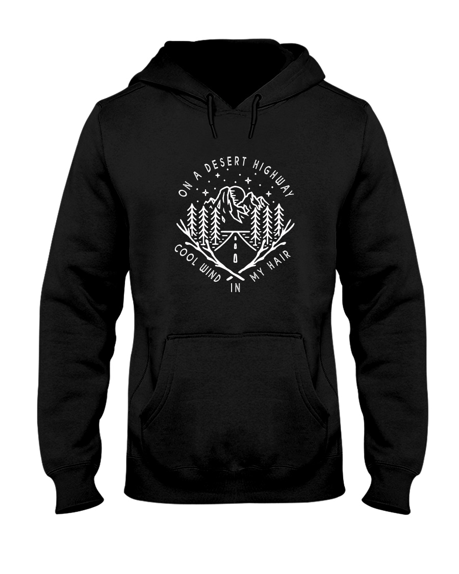 Cool Wind In My Hair Hooded Sweatshirt