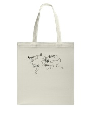 All The People Living In Peace Tote Bag thumbnail