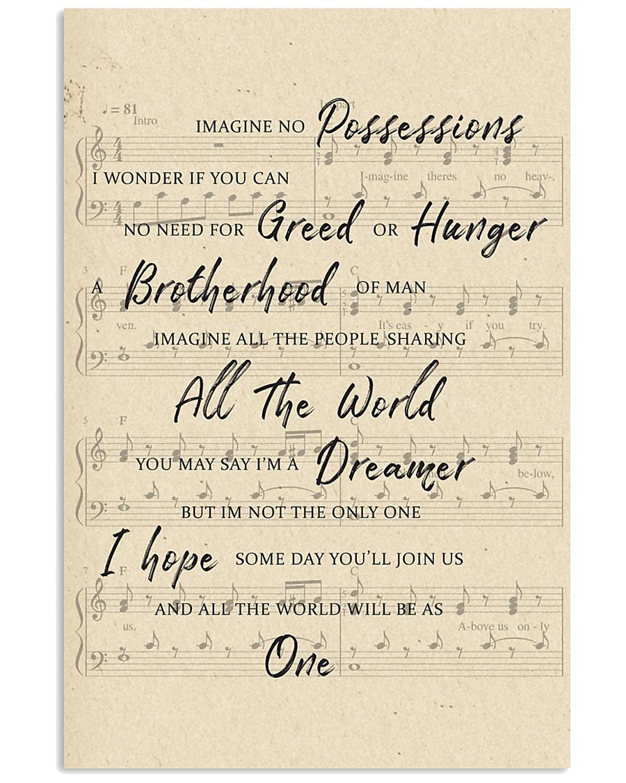 You May Say I Am A Dreamer 1 11x17 Poster