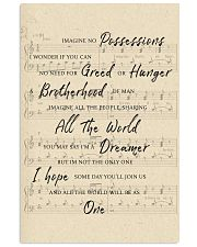 You May Say I Am A Dreamer 1 11x17 Poster front