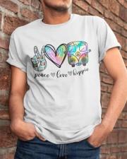 Peace Love Hippie Classic T-Shirt apparel-classic-tshirt-lifestyle-26
