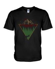 Listen To The River Sing 1 V-Neck T-Shirt thumbnail