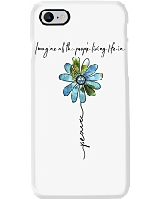 People Living Life In Peace Phone Case tile