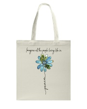 People Living Life In Peace Tote Bag tile