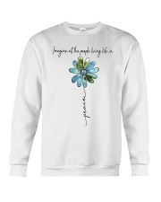 People Living Life In Peace Crewneck Sweatshirt thumbnail