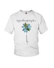 People Living Life In Peace Youth T-Shirt tile