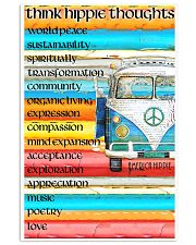 Think Hippie Thoughts 11x17 Poster front