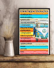 Think Hippie Thoughts 11x17 Poster lifestyle-poster-3