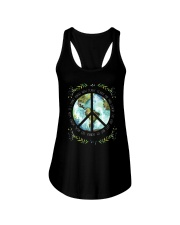 Get Real Weird With Earth Ladies Flowy Tank tile