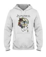 Time May Change Me Hooded Sweatshirt front