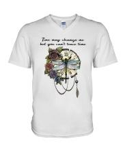 Time May Change Me V-Neck T-Shirt thumbnail